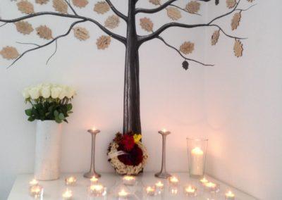 Smuteční strom v Krematoriu zvířat Praha